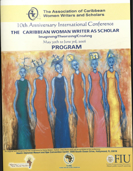 10th Anniversary International Conference, Florida International University, 2006.  Courtesy of Special Collections & University Archives, Florida International University.